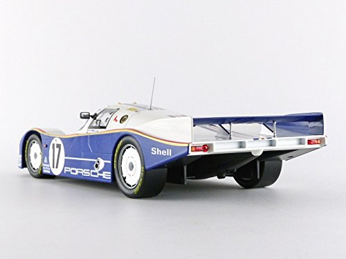 /187404/ /Escala 1//18/ Norev/ /Porsche 962/C/ /Blanco//Azul /Winner Le Mans 1987/