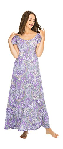 Dress Liberty Sleeves Lavender Large