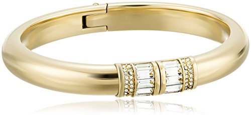 Michael Kors Park Avenue Baguette Gold-Tone Bangle Bracelet