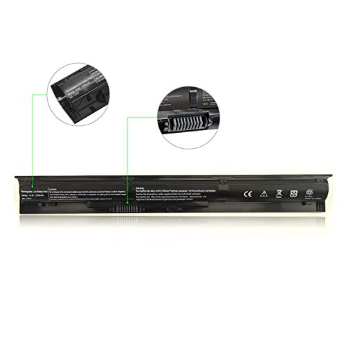 laptop battery Replacement for HP VI04 VI04048,ProBook 440 G2 450 G2 455 G2 Q140 Q141 Q142 Q143,HP Envy 14-V 14-U 15-K 15-X 17-F 17-X,fit 756743-001 756478-421 756744-001 756745-001 HSTNN-LB6K