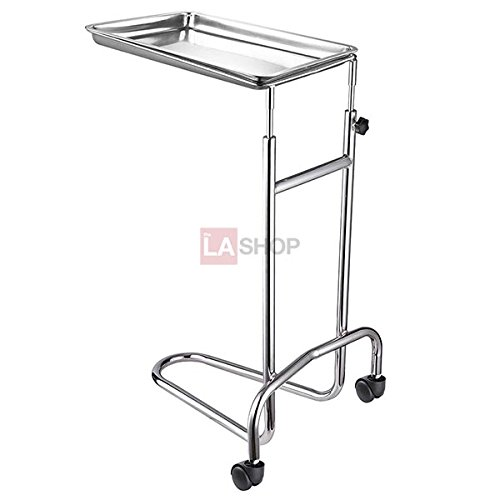Mayo Instrument Stand with Removable Tray Double Post (Post Double Stand)