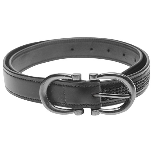 Dublin Womens Horseshoe Belt Buckle Fastening Clothes Accessories Black Medium from Dublin