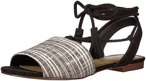Splendid Sandal Flat Fidel Women's Black rqrCHPWaz