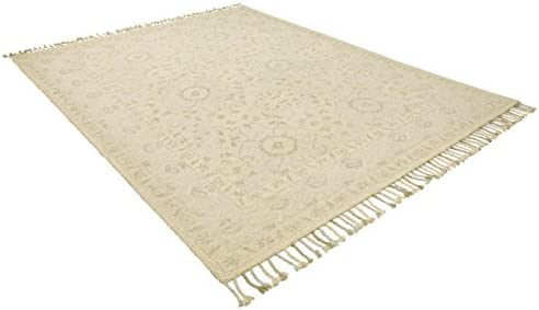 Amazon Brand Stone Beam Heidi Floral Farmhouse Wool Area Rug