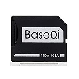 BASEQI aluminum microSD Adapter for MacBook Air 13\
