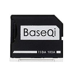 BASEQI aluminum microSD Adapter for MacBook Air 13\