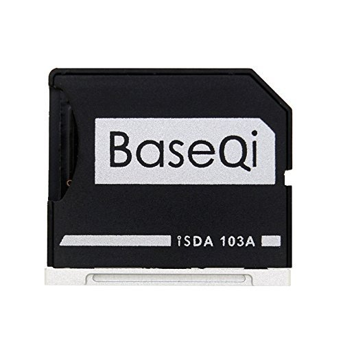 BASEQI Aluminum microSD Adapter for MacBook Air 13