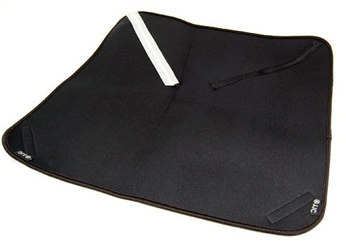 Vibesta Neopren Schutztuch faltbar (wrapping) mit Klettverschluss schützt gegen vor Stoßeinwirkung und Kratzern