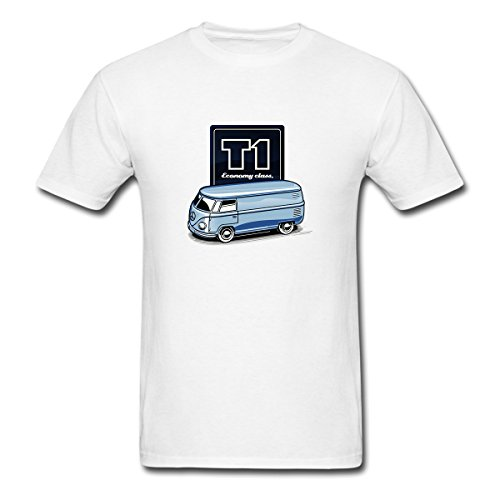 Economy Bus - Renting Bus Economy Class t Shirt For Men Cute Cotton Tee Short Sleeve Size L White