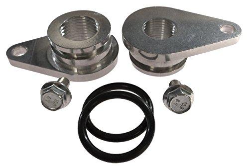 Mod 4.6L 4V Billet Front Cylinder Head Coolant Crossover Port Compatible with Mustang 99-04 C 551501
