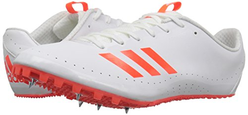 adidas Men's Sprintstar Track Shoe, Solar Red/White/Infrared, 7 M US by adidas (Image #6)