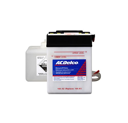 ACDelco AB14AA2 Specialty Conventional Powersports JIS 14A-A2 Battery by ACDelco