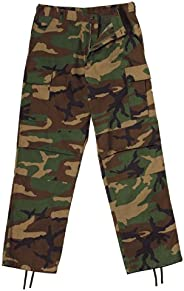 Rothco Woodland Camo Relaxed Fit Zipper Fly BDU Pants