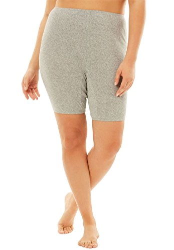 Comfort Choice Women's Plus Size 3-Pack Bloomers Spring Pack,10 (Bloomers Dress Spring)