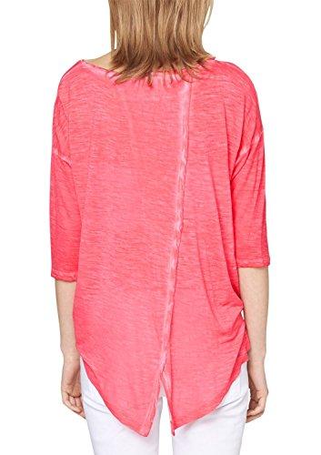 S.Oliver Denim 41.503.39.2057 - Camiseta Mujer Violett (raspberry 4512)