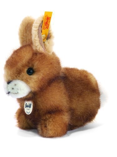 están haciendo actividades de descuento Steiff Hoppel Rabbit, Rabbit, Rabbit, marrón by Steiff  marca