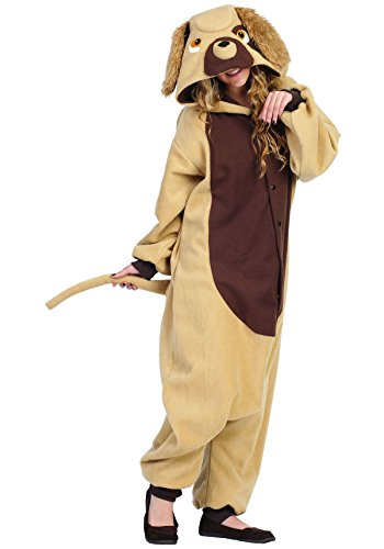 [RG Costumes Devin The Dog, Brown/Tan, One Size] (Human Dog Costume)