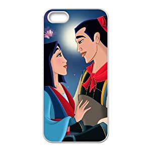 Mulan II iPhone 5 5s Cell Phone Case White Dsbws