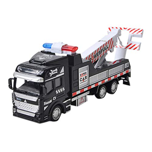 Price comparison product image Onefa Kid Toy, Children Mini Alloy Fire Vehicle Engineering Truck Model Inertia Car (One Size,  D)