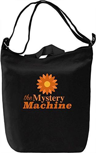 the Mystery machine Borsa Giornaliera Canvas Canvas Day Bag| 100% Premium Cotton Canvas| DTG Printing|