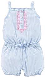 Carter'sBabyGirls'CA-53379PrintRomper(Baby)-Cherries-3Months