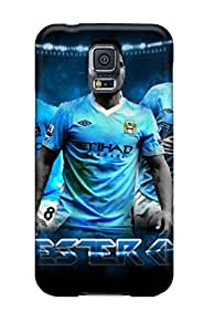 (lrwvQxJ308WLnFX)durable Protection Case Cover For Galaxy S5(manchester City Key Players)