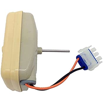Wr60x10045 refrigerator evaporator fan motor for Ge refrigerator evaporator fan motor problems