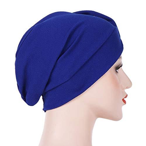 Sombrero Flores Boda Niña Sombreros de Mujer Musulmana Tapa del Turbante  Invierno Cálido Chemo Sombrero para pérdida de Cabello c2aad9467f7f