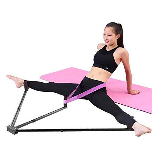 Extensor de Pierna de Hierro con 3 Patas de Barra y Herramienta de Entrenamiento de flexibilidad para Ballet Grizack