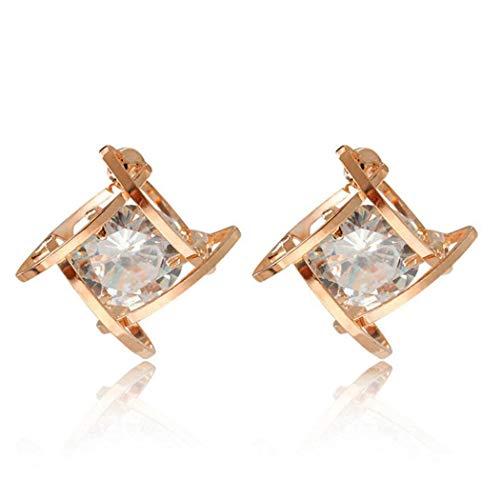 Asatr New Women Fashion Earrings Jewelry Trendy Four-jaw Zircon Charm Wedding Gift Makeup Sets