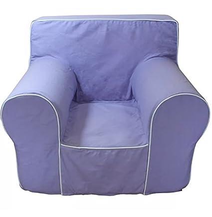 CUB CHAIRS Small Lavender Chair Cover For Foam Childrenu0027s Chair