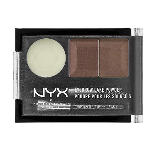 NYX Eyebrow Cake Powder, Auburn/Red, 0.09 oz]()