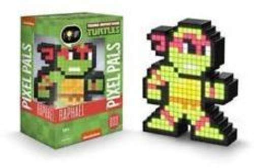 PDP Pixel Pals Teenage Mutant Ninja Turtles Raphael Collectible Lighted Figure, 878-037-NA-RAPHAEL