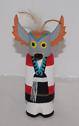 Grace Pooley Collectible Route 66 Hopi Owl Maiden Kachina (Doll Kachina Owl)