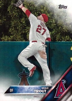 2016 Topps Mike Trout Baseball