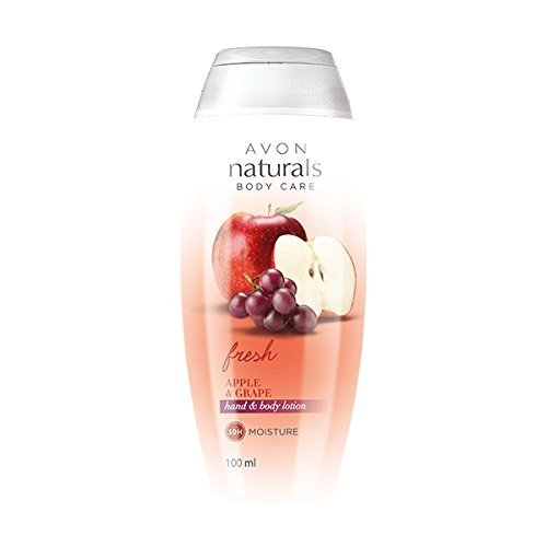 - Avon Naturals Fresh Apple and Grape Hand & Body Lotion 100ml (21848)