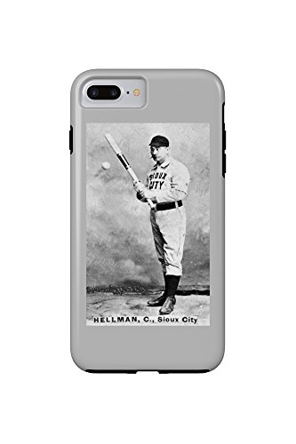 sioux-city-minor-league-tony-hellman-baseball-card-iphone-7-plus-cell-phone-case-tough