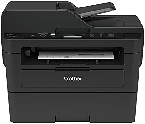 Brother Monochrome Laser Printer, Compact Multifunction Printer and Copier, DCPL2550DW, Amazon Dash Replenishment Enabled, Black