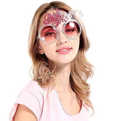 Glumes Novelty Party Sunglasses, Creative Funny Glasses, Luau