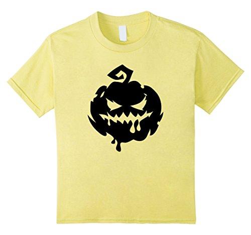 Top 10 Easy Halloween Costumes (Kids Halloween Scary Pumpkin Face - Easy Halloween Costume Top 10 Lemon)