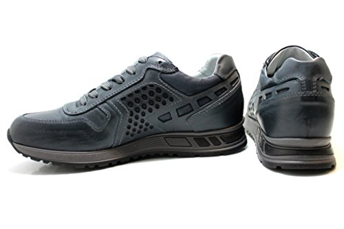 Nero Giardini - Zapatillas de Piel para hombre turquesa