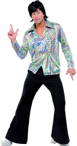 60s 70s Men's Clothing UK | Shirts, Trousers, Shoes Smiffys 70s Retro Costume £21.49 AT vintagedancer.com