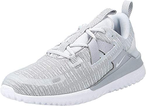 Nike Wmns Renew Arena, Zapatillas de Atletismo para Mujer, Multicolor (Wolf Grey/Pure Platinum/White 010), 39 EU  lYImN