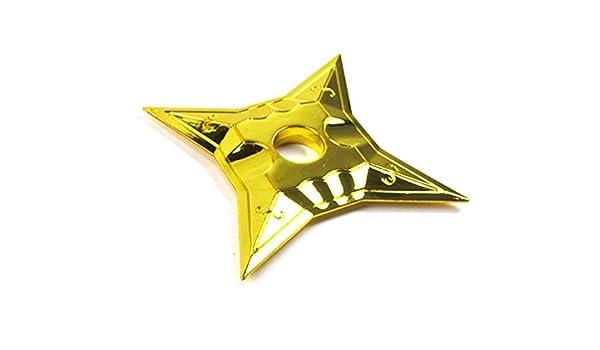 Jieluomao 2PCS Lol Kennen arma Keychain Ninja Shuriken Ninja ...
