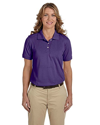 Ladies' Easy Blend Polo, Team Purple, XL