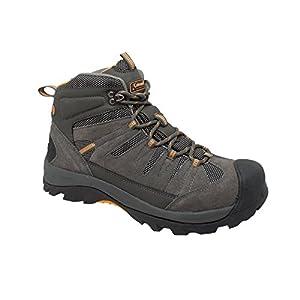 Coleman Men's COLORADO Grey Suede Leather Soft Toe Hiker Shoe. COLORADO-12D