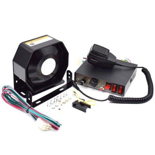 Set de universal 200 W 12 V compacto altavoz sistema de PA cuerno sirena de alerta de emergencia LILAUTO