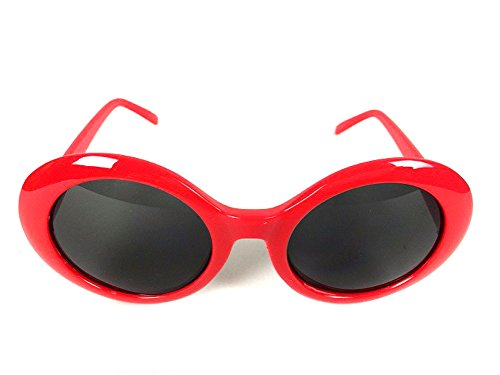 shades and glasses  Amazon.com: Kurt Cobain Alien Shades Sunglasses Nirvana Thick ...