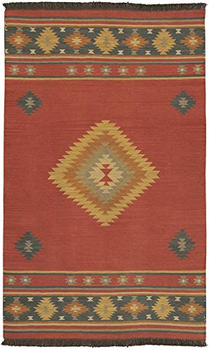 (Transitional Area Rug Rectangle 6' x 9')
