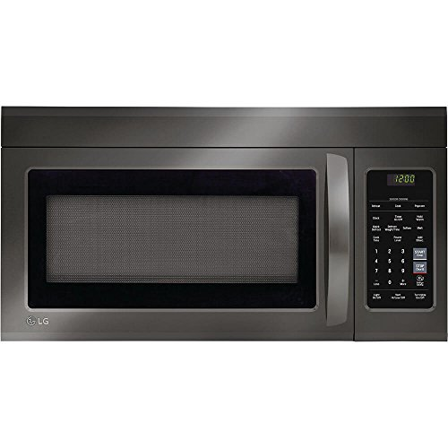 LG LMV1831BD 1.8 Cu. Ft. Black Stainless Over-The-Range Microwave